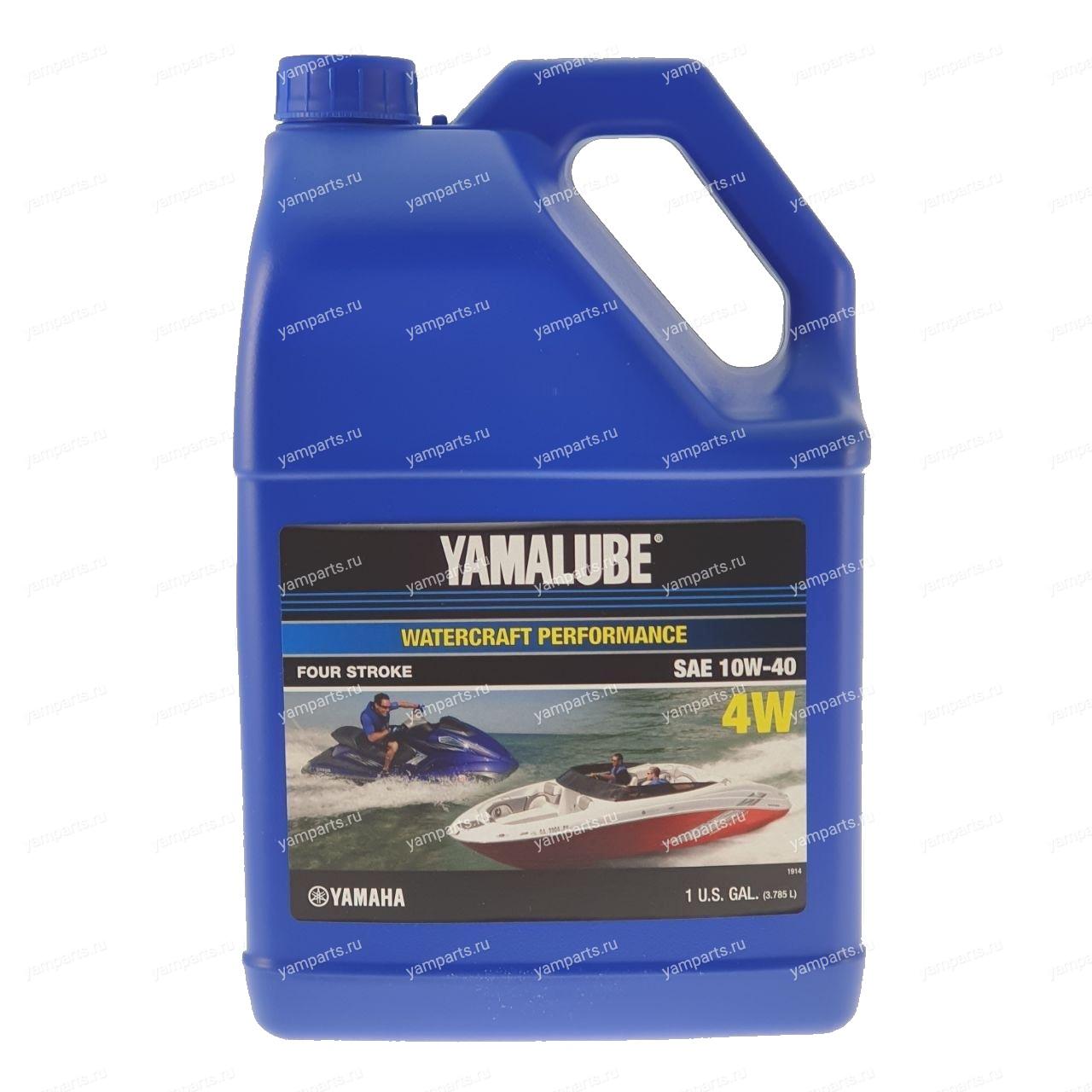 Масло минеральное Yamalube 10W40 (3.78 л)